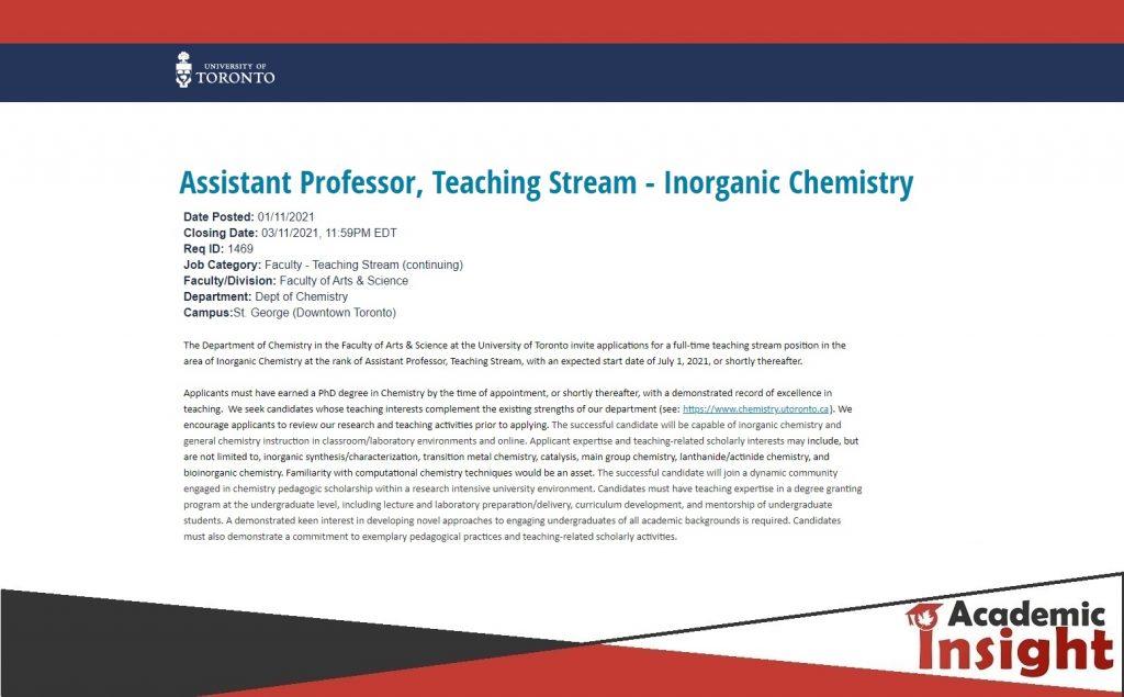 Assistant Professorship