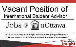 International Student Advisor